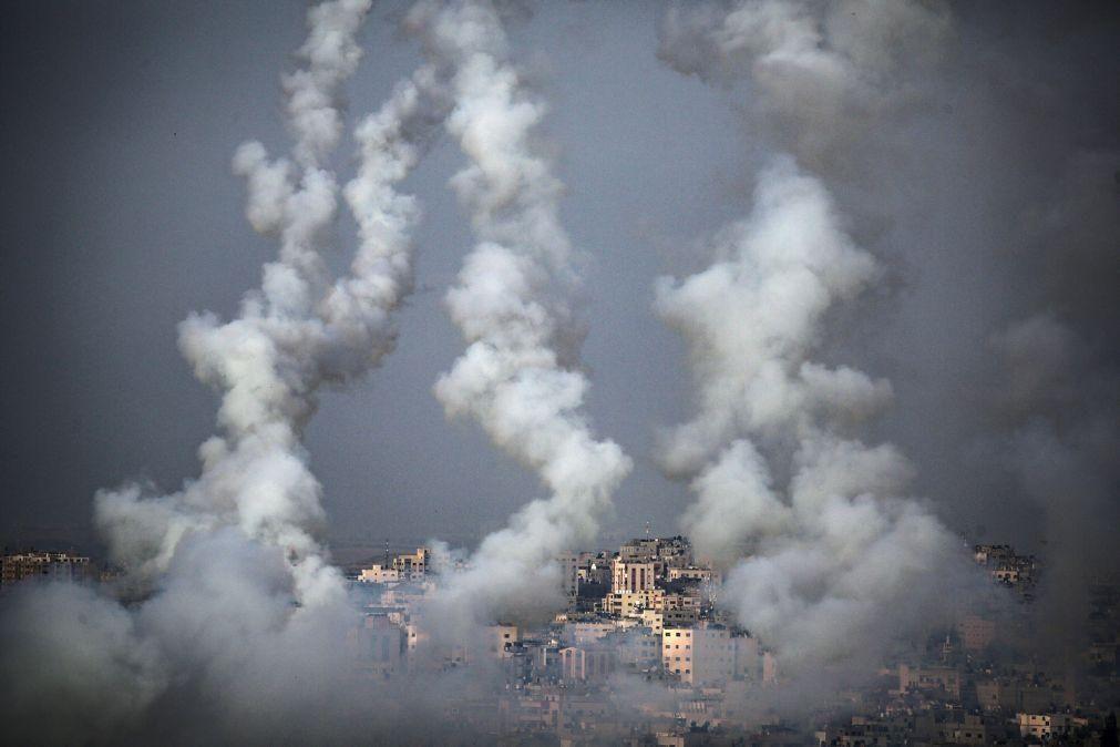Jerusalém: Hamas diz ter disparado mais de 100 foguetes de Gaza contra Israel