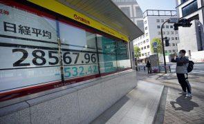 Bolsa de Tóquio abre a perder 0,93%