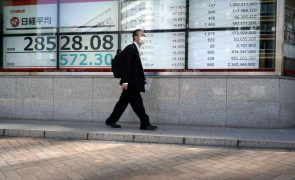 Bolsa de Tóquio fecha a perder 3,08%