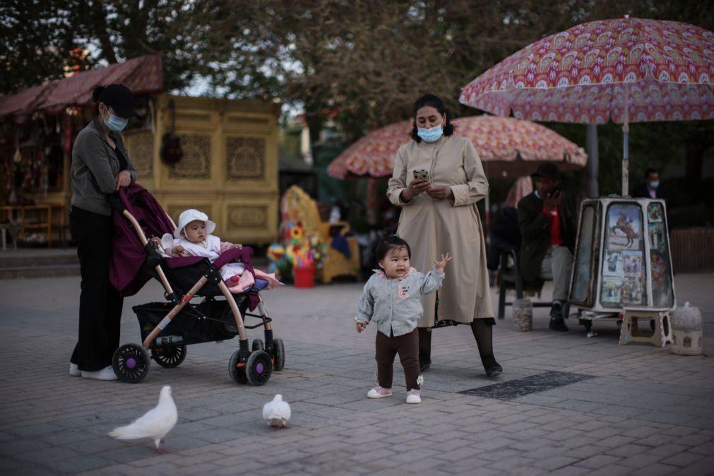 China com crescimento populacional praticamente nulo nos últimos 10 anos