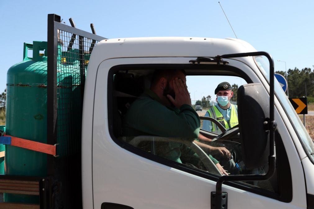 Covid-19: GNR trava 83 trabalhadores na cerca sanitária em Odemira