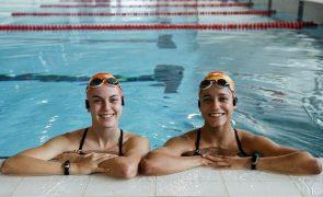 Beatriz Gonçalves e Cheila Vieira em 14.º nos Europeus de natação artística