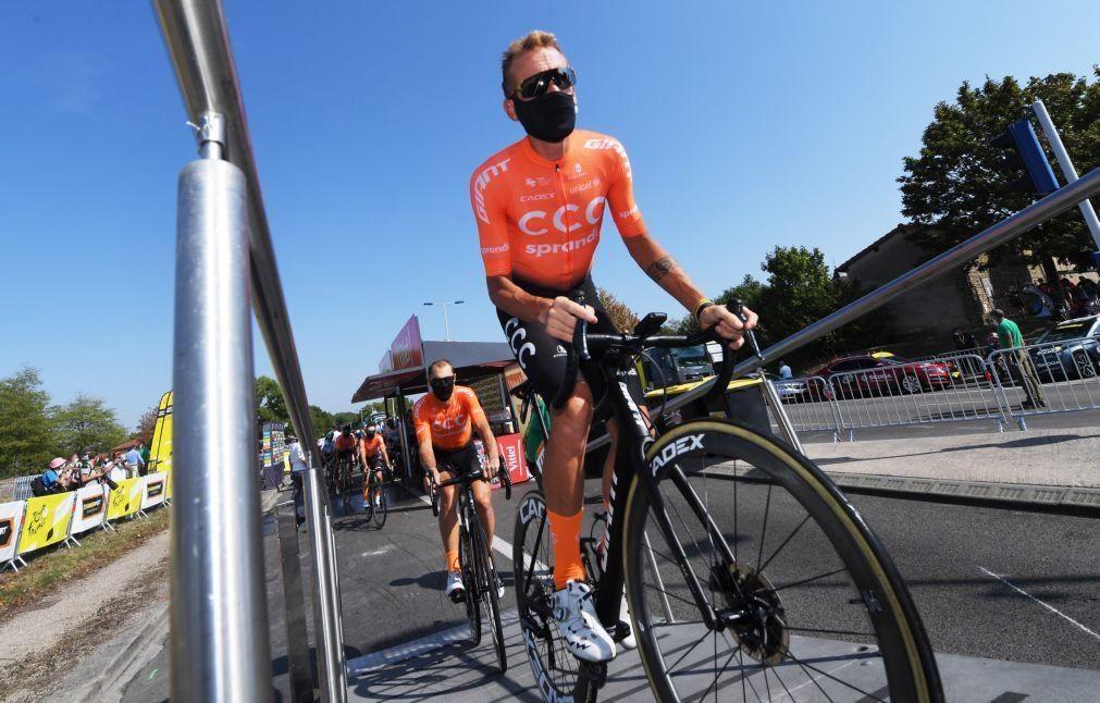 Giro: Joe Dombrowski vence quarta etapa, Alessandro de Marchi novo líder da geral