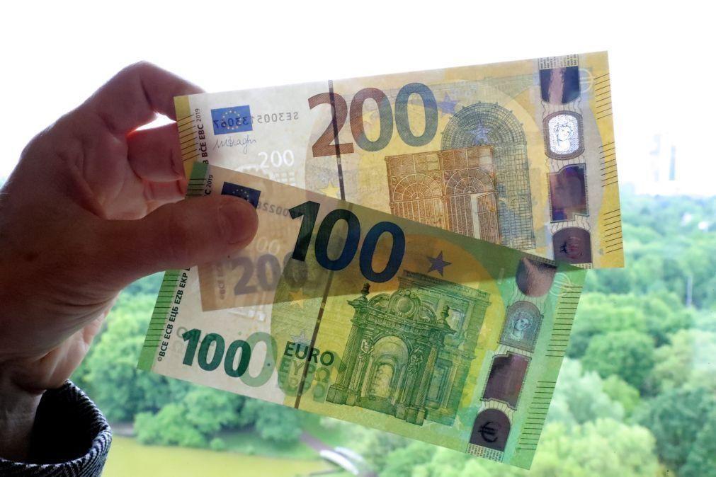 Euro sobe após melhoria na confiança dos investidores na Alemanha