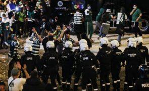 Desacatos em Alvalade podem impedir autocarro para festejos