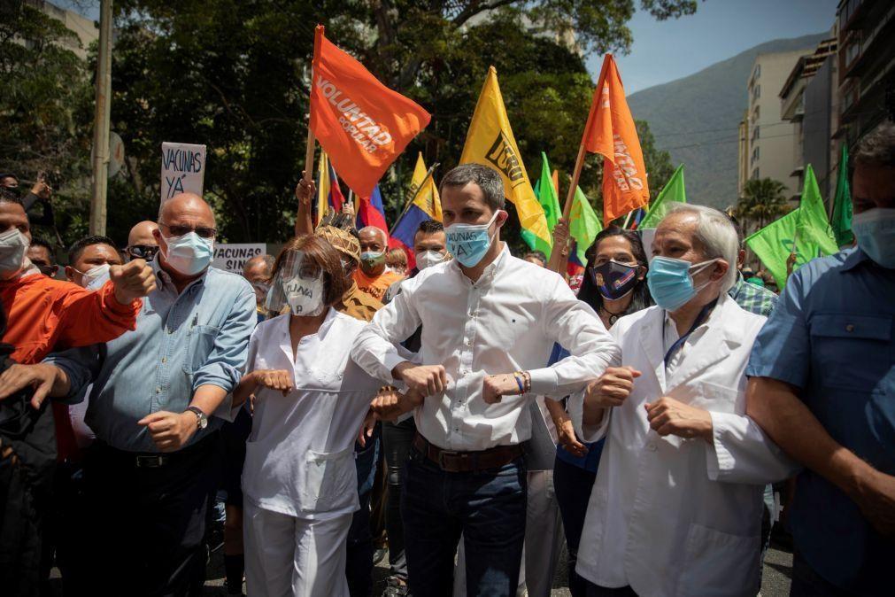 Venezuela: Guaidó propõe acordo entre oposição e o regime com levantamento de sanções