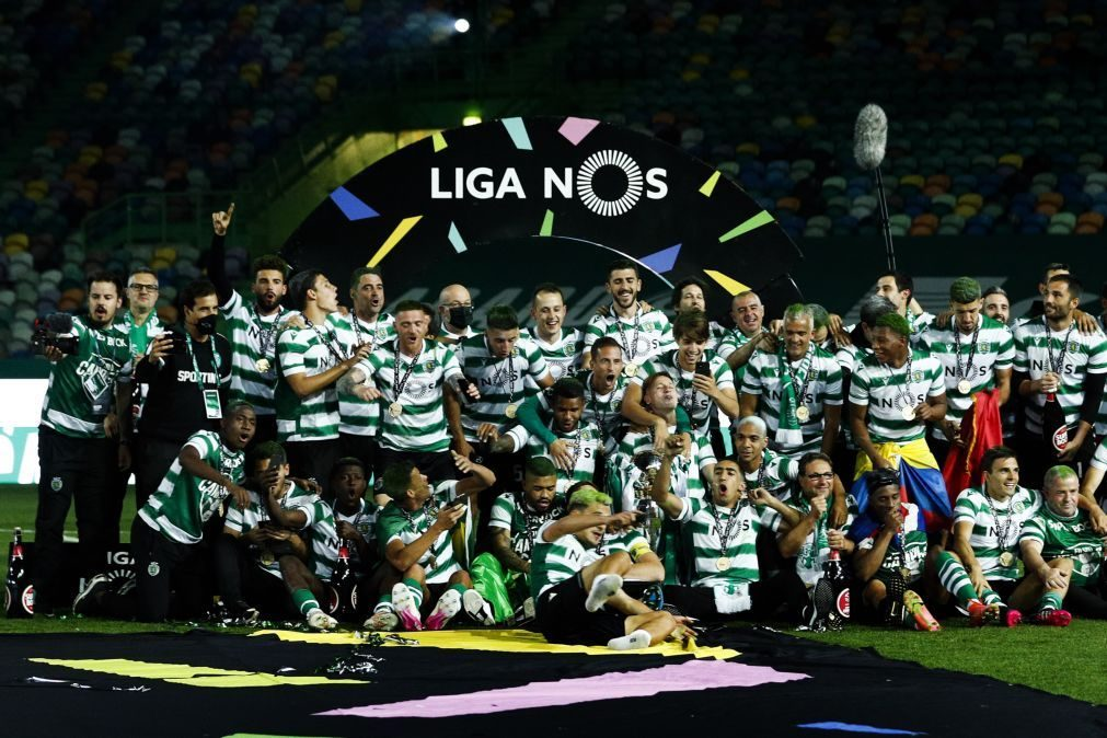 Sporting campeão: 'Leões' recebidos na Câmara a 20 de maio