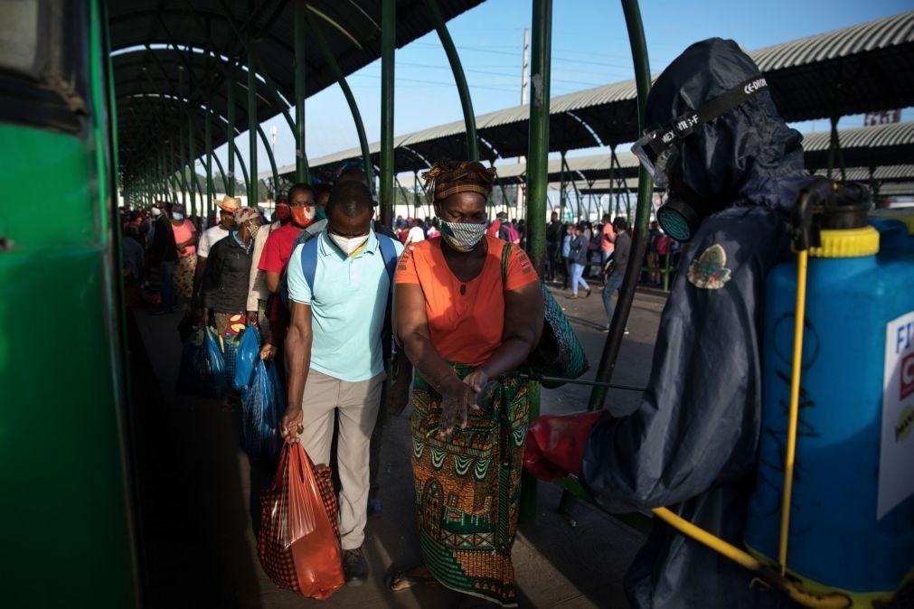 Covid-19: Moçambique sem óbitos, com 20 casos e 163 recuperados