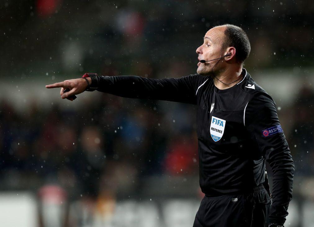 UEFA designa árbitro espanhol Mateu Lahoz para final da Liga dos Campeões