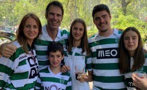 Mulher de Pedro Lima e a vitória do Sporting: «Alguém estará a festejar»