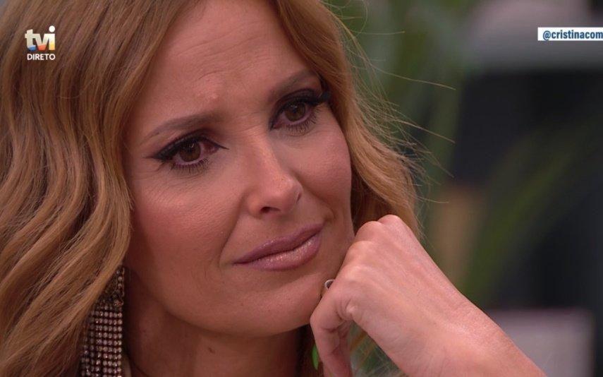 Cristina Ferreira surpreendida em direto desaba em lágrimas