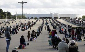 Esgotada lotação de 7.500 peregrinos no Santuário de Fátima