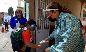 Covid-19: México com mais 267  mortos e 3.090 novos casos