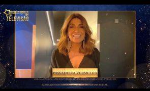 Liliana Campos agradece nomeação: «Quero dizer-vos que estou mesmo feliz!»