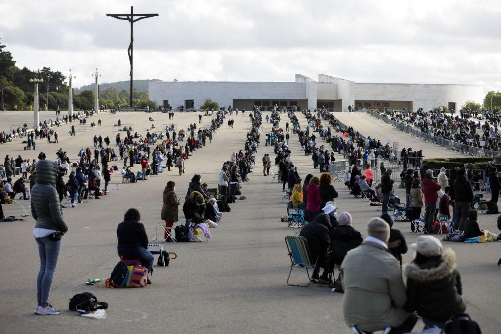 Santuário de Fátima atinge limite de peregrinos nas celebrações do 13 de maio