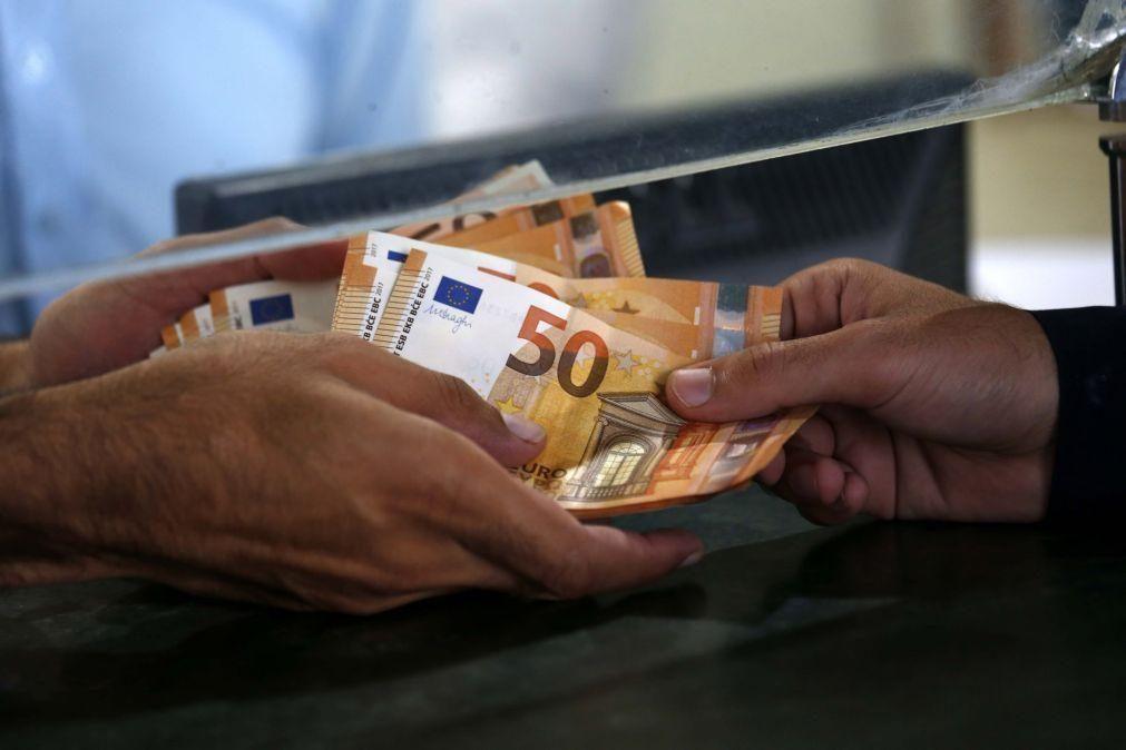 Remuneração bruta mensal média sobe para 1.227 euros no 1.º trimestre