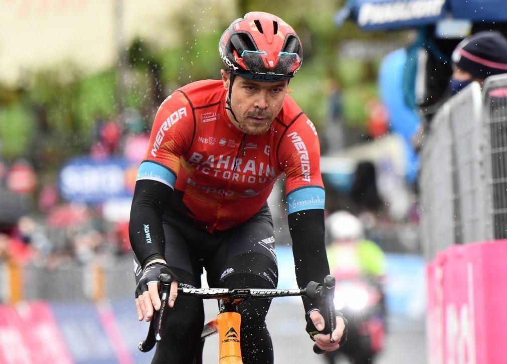 Giro: Mikel Landa tem alta hospitalar e regressa a casa para ser operado