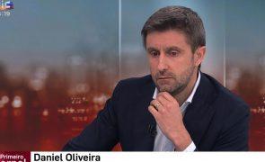 Daniel Oliveira emociona-se ao falar de Maria João Abreu