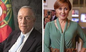 Marcelo Rebelo de Sousa reage com muita emoção à morte de Maria João Abreu
