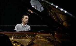 Pianistas Jeffery Macsim, Pedro Burmester e Adriano Jordão no Festival de Música de Mafra