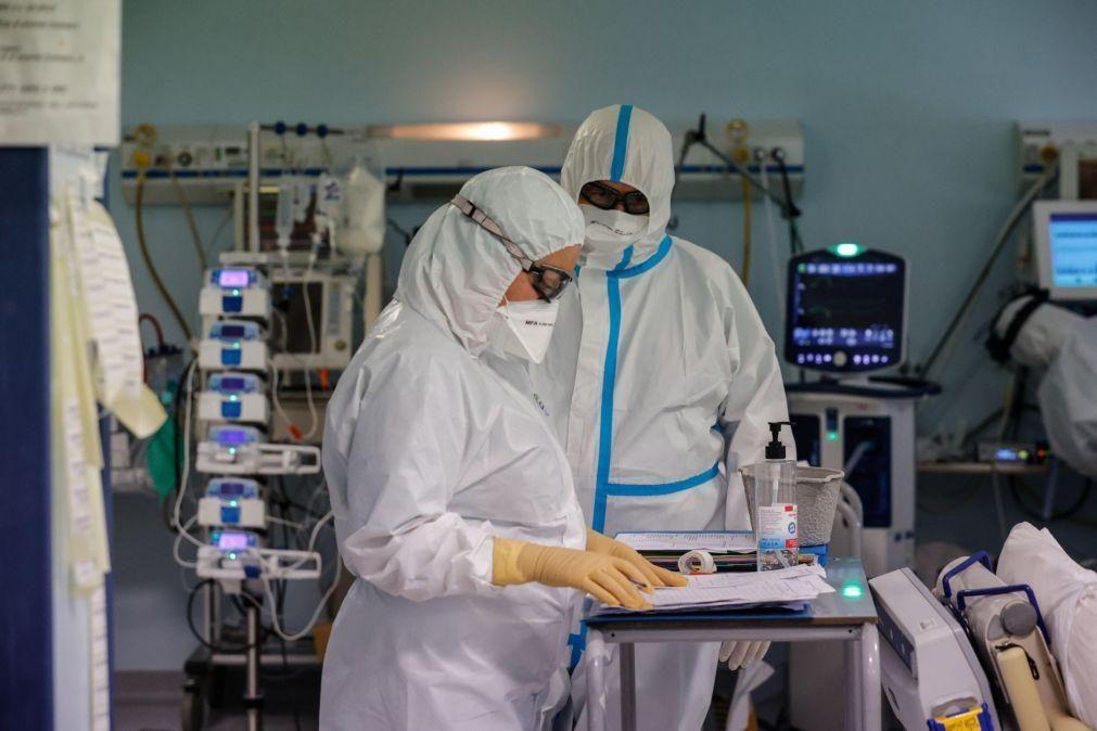 Covid-19: Itália com mais 8.000 casos continua a baixar pressão nos hospitais