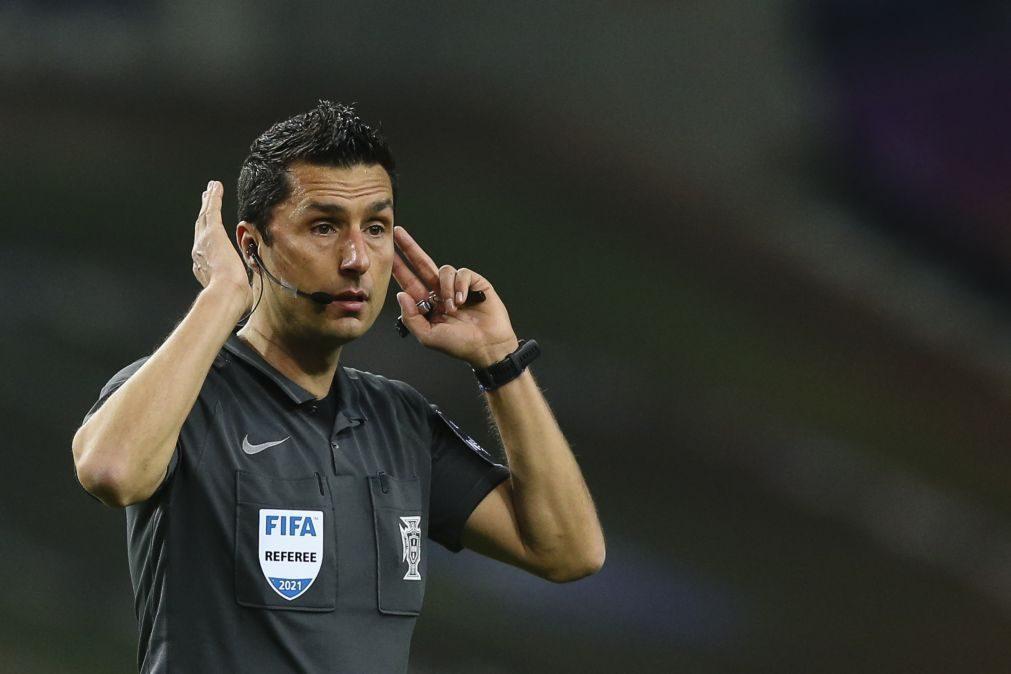 Tiago Martins é o árbitro do dérbi Benfica-Sporting