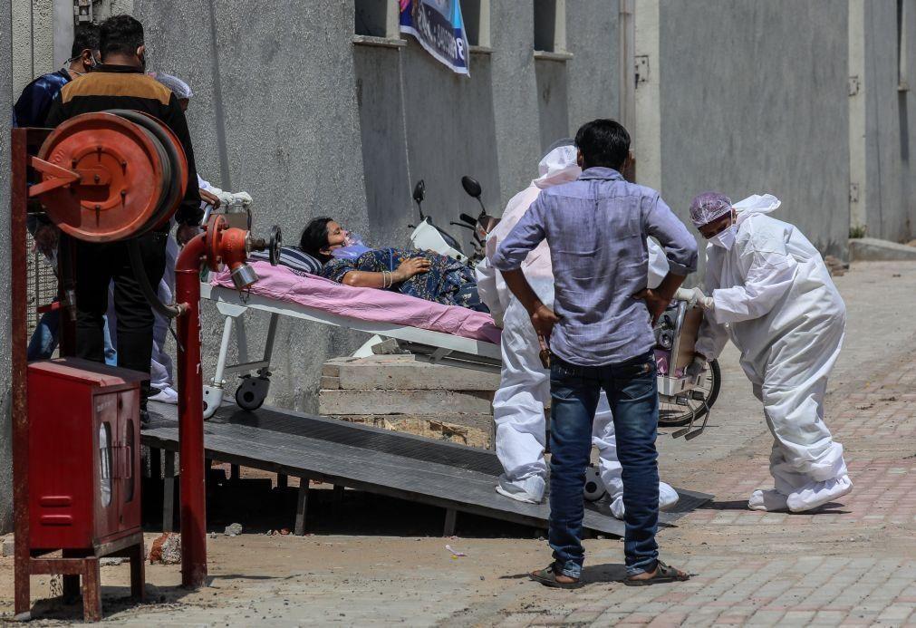 Covid-19: Índia com quatro mil mortos nas últimas 24 horas