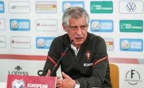 Euro2020: Fernando Santos divulga 'eleitos' na quinta-feira