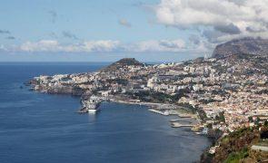 Dormidas na Madeira registam quebra de 75,1% em março