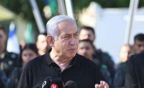 Netanyahu indica que ataques contra Gaza vão prosseguir