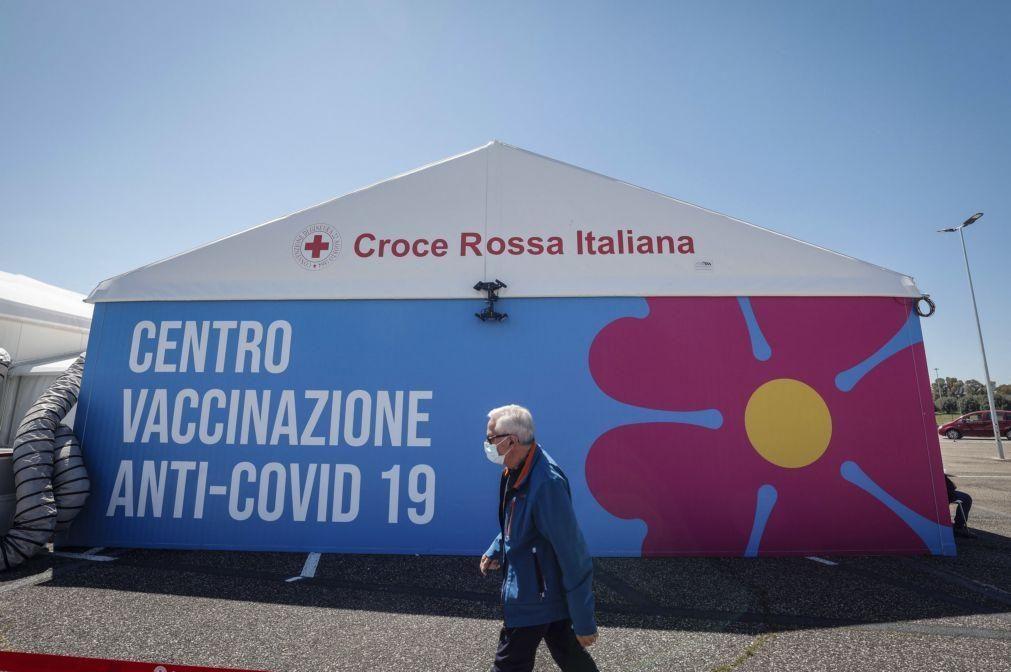 Covid-19: Casos em Itália caem para 7.567 infetados e 182 mortos num dia