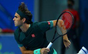 Tóquio2020: Roger Federer pede