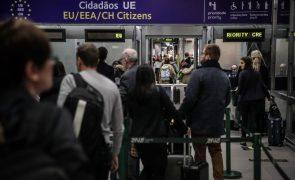 Covid-19: Portugal antecipa decisão da UE e levanta restrições ao Reino Unido