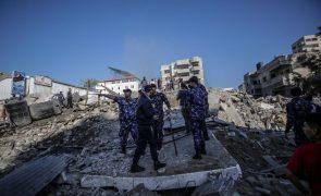 Morreram 140 pessoas em Gaza desde o início dos confrontos