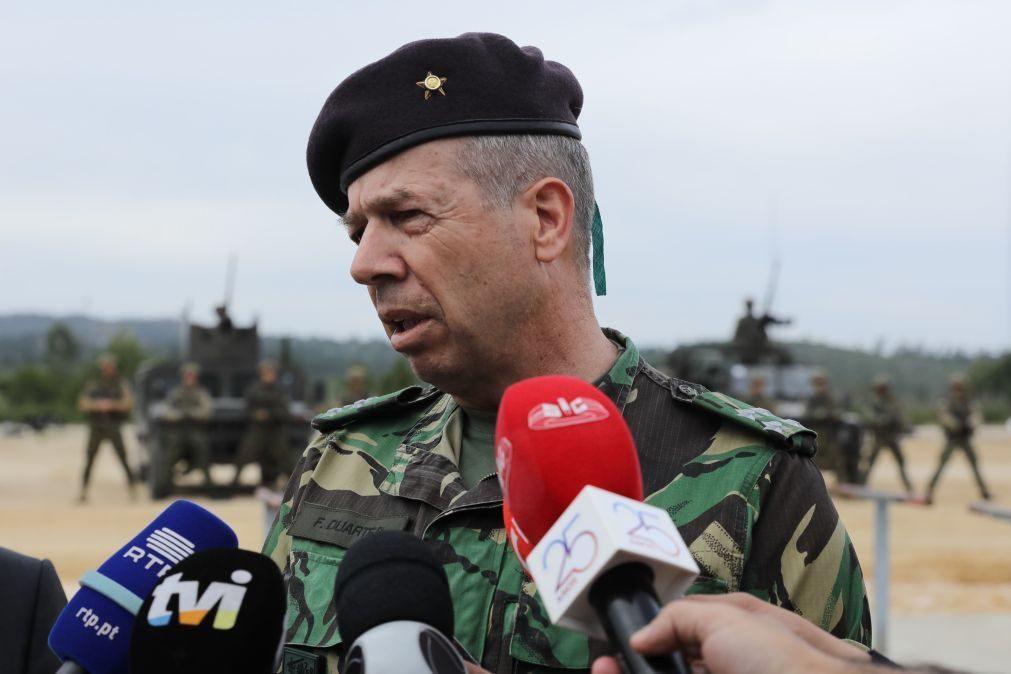 Chefe do Exército demite cinco comandantes para não interferirem com averiguações sobre furto de Tancos
