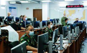 NATO começou exercício de fogo real na Escócia coordenado a partir de Oeiras