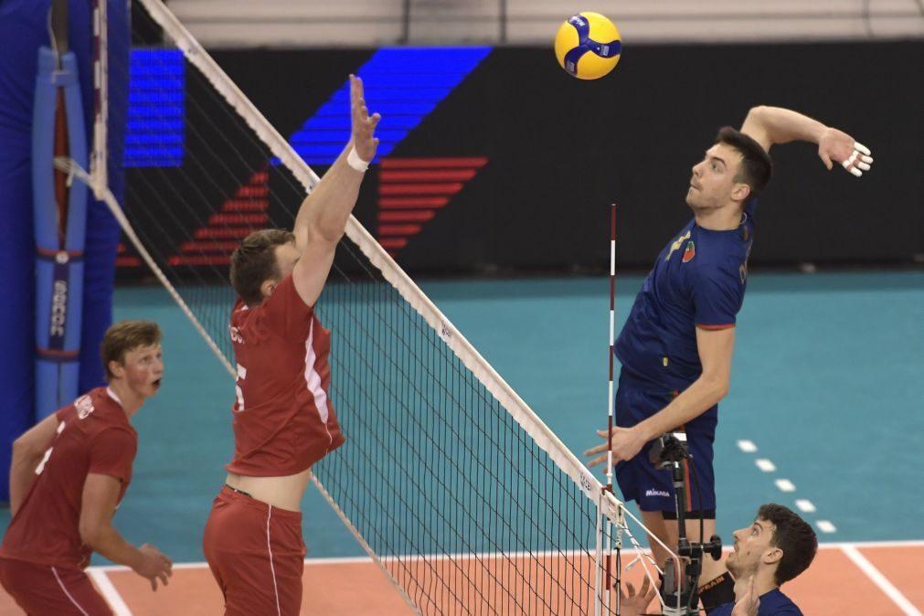 Portugal qualifica-se para o Europeu de voleibol ao vencer Noruega