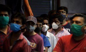 Covid-19: Índia com mais de quatro mil mortos nas últimas 24 horas