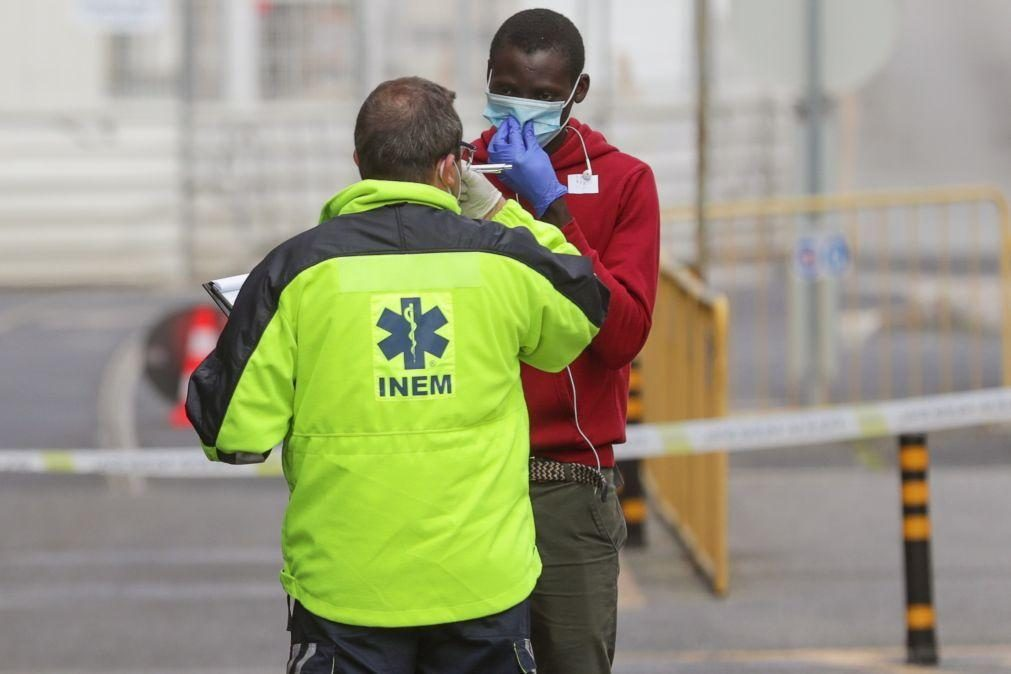 Covid-19: Duas equipas do INEM chegam hoje a Cabo Verde para ajudar hospitais