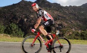 Tomasz Marczynski retirou-se da Volta a Itália com sintomas pós-covid
