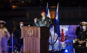 Chefe militar israelita diz que
