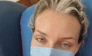 Luciana Abreu assistida de urgência no hospital de Portalegre