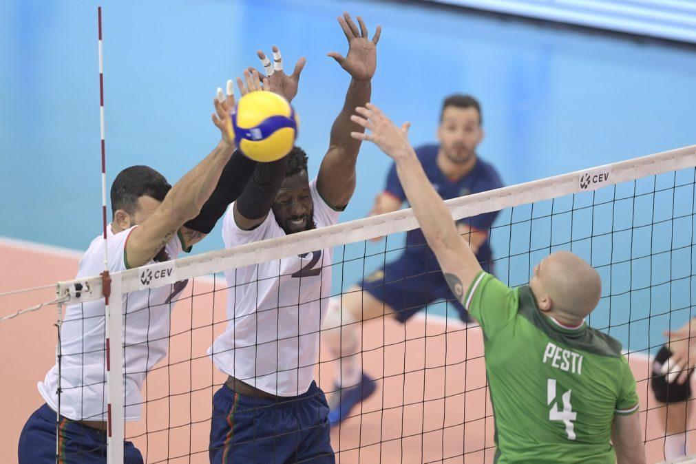 Portugal vence Hungria e soma sexta vitória na qualificação para o Europeu de voleibol
