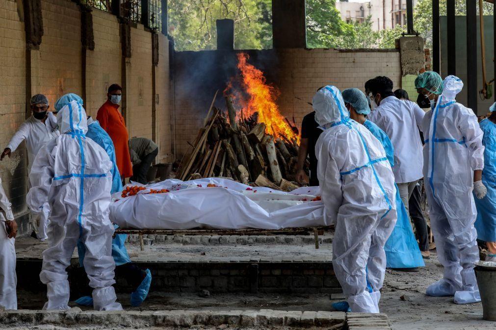 Covid-19: Índia com menos de 300 mil casos pela primeira vez em 25 dias