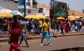Covid-19: Guiné-Bissau registou cinco casos na última semana