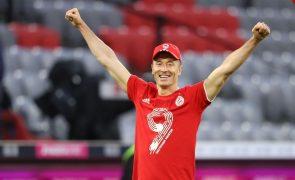 Euro2020: Robert Lewandowski lidera convocados da Polónia de Paulo Sousa