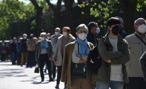 Covid-19: Espanha regista 11.061 novos casos e 93 mortes desde sexta-feira
