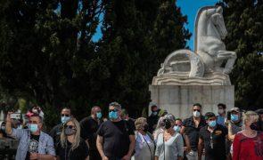 Convergência pela Cultura alerta para situação no setor com protesto em Lisboa