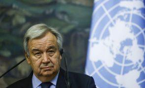 Guterres preocupado face ataques que visaram 'media' em Gaza
