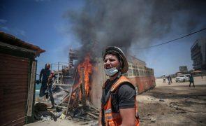 Médio Oriente: Chefes da diplomacia da UE debatem hoje escalada de violência em Gaza